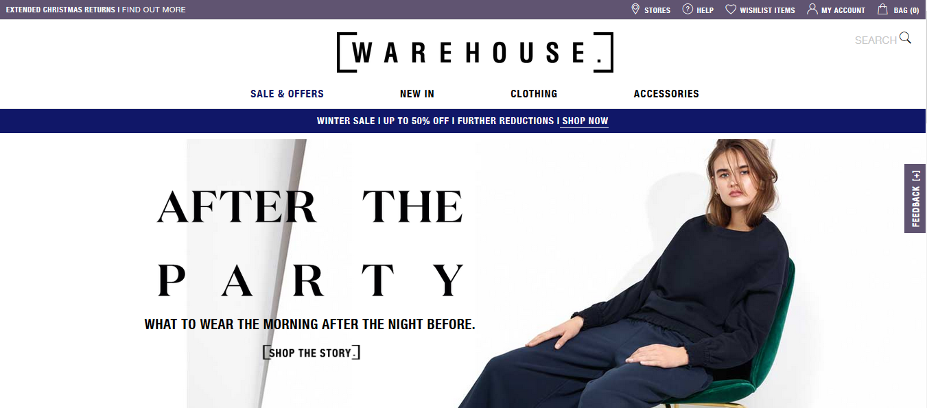 Warehouse – Resolutely British