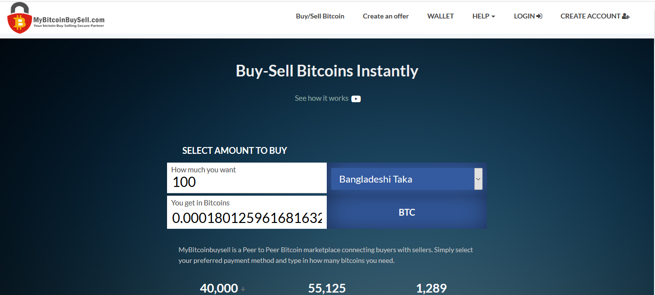 Bitcoin Buy Sell Site